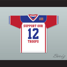 Snoop Dogg Support Our Troops USA Football Jersey