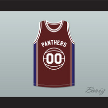 Kyle Lee Watson 00 Panthers High School Basketball Jersey Above The Rim Blue Side Stripe
