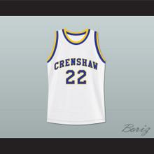 Quincy McCall 22 Crenshaw High School Basketball Jersey Love and Basketball