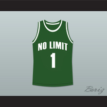 Master P 1 No Limit Basketball Jersey Green New