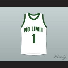Master P 1 No Limit Basketball Jersey White