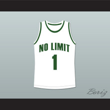 Master P 1 No Limit Basketball Jersey White New