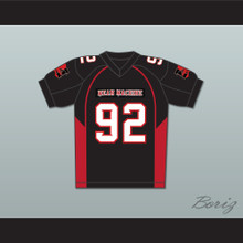 """Joey Diaz 92 Anthony """"Big Tony"""" Cobianco Mean Machine Convicts Football Jersey Includes Patches"""