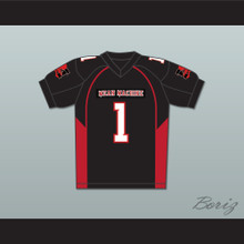 Nicholas Turturro 1 Brucie Mean Machine Convicts Football Jersey Includes Patches