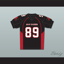 Terry Crews 89 Cheeseburger Eddy Mean Machine Convicts Football Jersey Includes Patches
