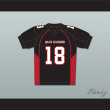 Adam Sandler 18 Paul Crewe Mean Machine Convicts Football Jersey