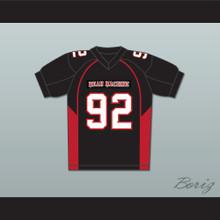 "Joey Diaz 92 Anthony ""Big Tony"" Cobianco Mean Machine Convicts Football Jersey"