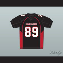 Terry Crews 89 Cheeseburger Eddy Mean Machine Convicts Football Jersey
