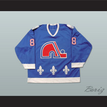Eric Lindros Quebec Nordiques Draft Hockey Jersey