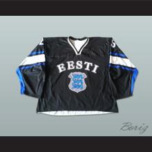 Roland Bugaj 25 Estonia Hockey Jersey