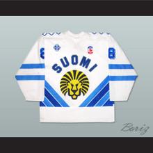 Finland Teemu Selänne Hockey Jersey