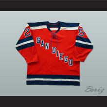 Gene Peacosh San Diego Mariners Hockey Jersey