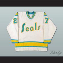 Gilles Meloche Golden Seals Hockey Jersey