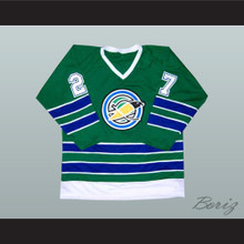 Gilles Meloche California Golden Seals Oakland Hockey Jersey Green