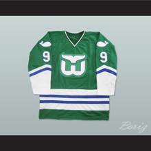 Gordie Howe Hartford Whalers Hockey Jersey