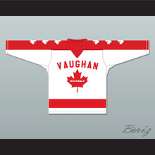 Wayne Gretzky 9 Vaughan Nationals Hockey Jersey Metro Junior B Hockey League