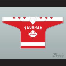 Wayne Gretzky 99 Vaughan Nationals Hockey Jersey Metro Junior B Hockey League NN Red