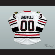 Clark Griswold Chicago Hockey Jersey Christmas Vacation Chevy Chase