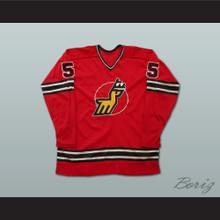 John Miszuk WHA Michigan Stags Hockey Jersey