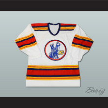 John Wright Kansas City Scouts Hockey Jersey White