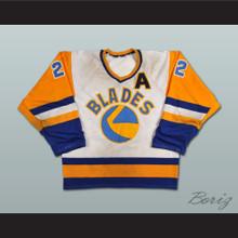 Kelly Chase Saskatoon Blades Hockey Jersey