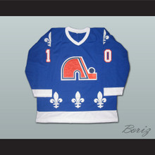 Guy LaFleur 10 Quebec Nordiques Hockey Jersey