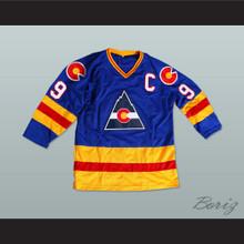 HOF Lanny Mcdonald 9 Hockey Jersey