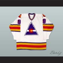 HOF Lanny Mcdonald 9 Hockey Jersey White