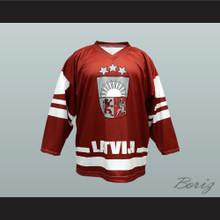 Latvia National Team Hockey Jersey