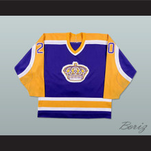 Luc Robitaille 20 Los Angeles Hockey Jersey