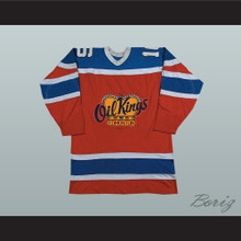 Edmonton Oil Kings Defunct Team Hockey Jersey Stitch Sewn New