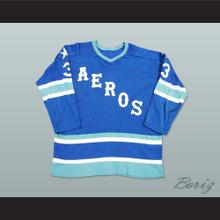 Marty Howe 3 WHA Houston Aeros Hockey Jersey