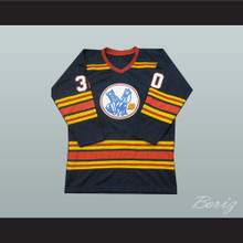Bill McKenzie 30 Kansas City Scouts Hockey Jersey