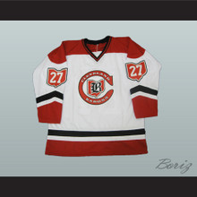 Gilles Meloche 27 Cleveland Barons Hockey Jersey