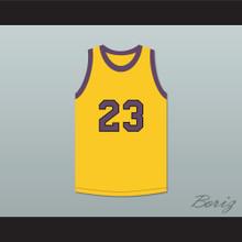Martin Payne 23 Yellow Basketball Jersey Martin