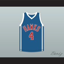 Mekhi Phifer Odin James 4 Hawks Basketball Jersey O Movie