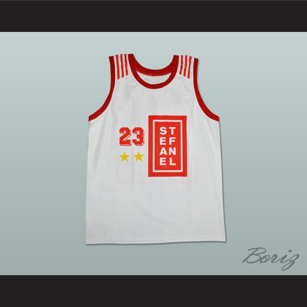uk availability 918b0 a70a0 Michael Jordan 23 Stefanel Trieste Italian Basketball Jersey