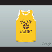 Bel-Air Academy Yellow Practice Basketball Jersey