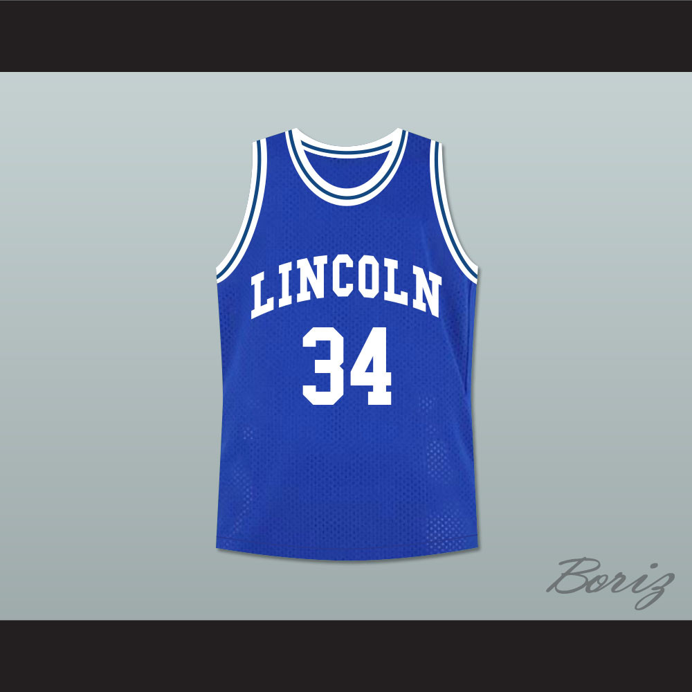 Ray Allen Jesus Shuttlesworth 34 Blue Lincoln High School ... d9b4c264b