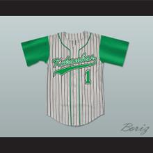 DeWayne Warren Jarius 'G-Baby' Evans Kekambas Baseball Jersey Hardball