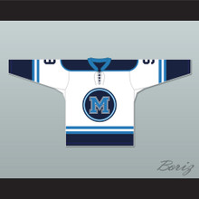 Mike Madden 9 Toronto Marvels White Hockey Jersey Warehouse 13