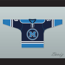Mike Madden 9 Toronto Marvels Blue Hockey Jersey Warehouse 13