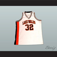 Amar'e Stoudemire 32 Lakes Wales High School Basketball Jersey White