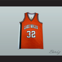 Amar'e Stoudemire 32 Lakes Wales High School Basketball Jersey Orange