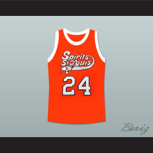 Marvin Barnes 24 Spirits of St. Louis Basketball Jersey
