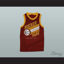 Rucker Park 1 Harlem New York City Basketball Jersey