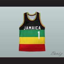 Jamaica 1 Basketball Jersey