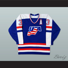 Mike Ramsey USA National Team Hockey Jersey