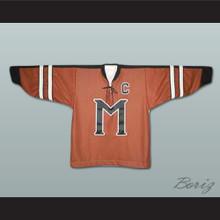 Russell Crowe John Biebe Mystery Alaska Hockey Jersey