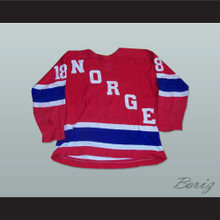 Norway National Team Hockey Jersey